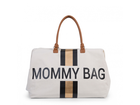 CHILDHOME - Prebaľovacia taška  Mommy Bag Big Off White / Black Gold
