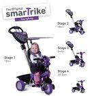 SMART TRIKE - trojkolka 159 Dream Team 4v1 Fialovo-čierna