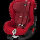 RÖMER - Autosedačka King II LS Black Edition 2017, 9-18 kg - Flame Red