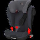 RÖMER - Autosedačka KIDFIX II XP SICT, Black Edition, 15-36 kg, 2017- Storm grey