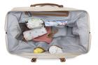 CHILDHOME - Prebaľovacia taška Mommy Bag Big Off White / Black Gold