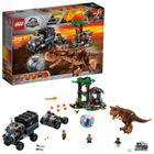 LEGO - Jurassic World 75929 Útek pred Carnotaurom v gyrosfére