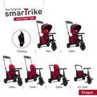 SMART TRIKE - trojkolka 500 Fold 7v1 Červená
