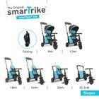 SMART TRIKE - trojkolka 500 Fold 7v1 Modrá