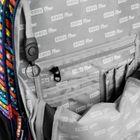EASY - Batoh školský-športový - bodky  - farebný