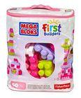 MEGA BLOKS - Kocky v plastovom vrecúšku ružové CZP67