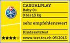CASUALPLAY - Autosedačka Baby 0 plus 0-13 kg 2017 - PLUM