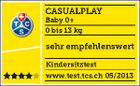 CASUALPLAY - Autosedačka Baby 0 plus 0-13 kg - LAVA ROCK
