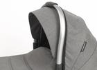 CASUALPLAY - Playxtrem Skyline Set športový kočík, vanička a prebalovacia taška - Shadow (Black)