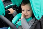 CASUALPLAY - Playxtrem športový kočík pre dvojičky a súrodencov Baby Twin 2019 - Silver (Plata)