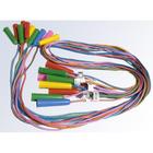 PASMANTEX - Švihadlo šnúrkové 220 cm - mix farieb