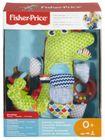 FISHER PRICE - Krokodílik s aktivitami FDC57 v krabici