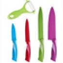 Nože, nožnice, stojany a ocieľky