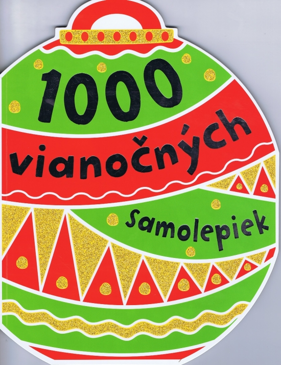 1000 vianočných samolepiek - autor neuvedený