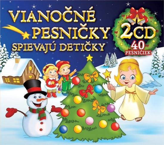2CD BOX Vianočné pesničky spievajú detičky