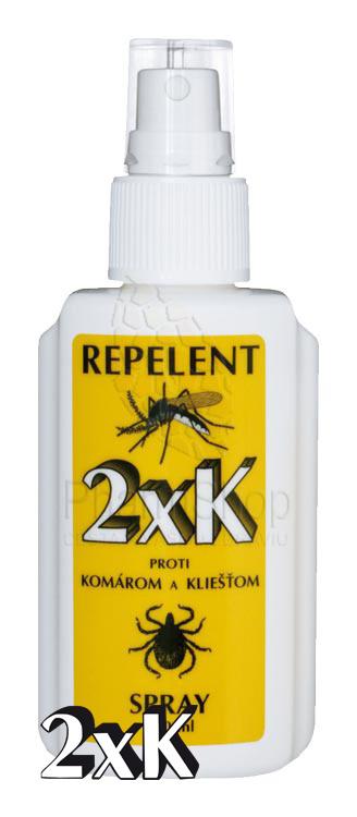 2XK - Repelent sprej 100ml