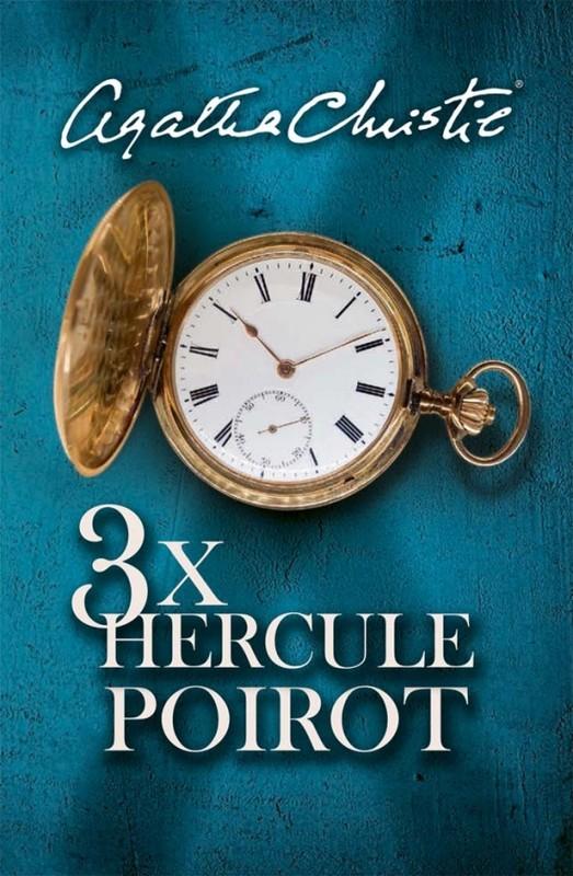 3x Hercule Poirot - Agatha Christie