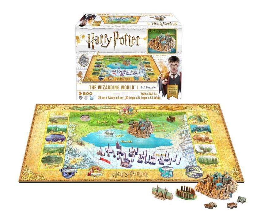 4D CITYSCAPE - 4D Puzzle - Harry Potter