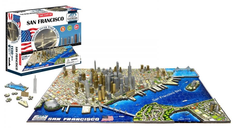 4D CITYSCAPE - 4D Puzzle - San Francisco