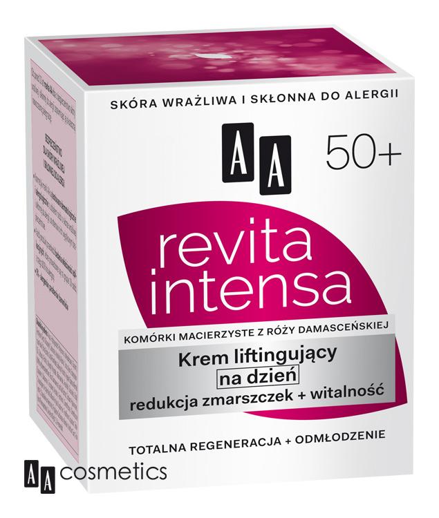 AA - 50+ Revita Intensa Rejuvenation denný krém vyhladzujúci aregeneračný 50ml