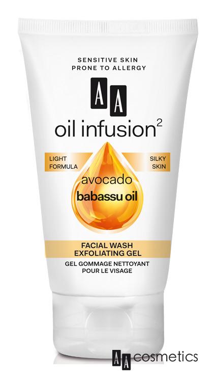 AA - Oil Infusion Čistiaci exfoliačný gél na tvár 150 ml