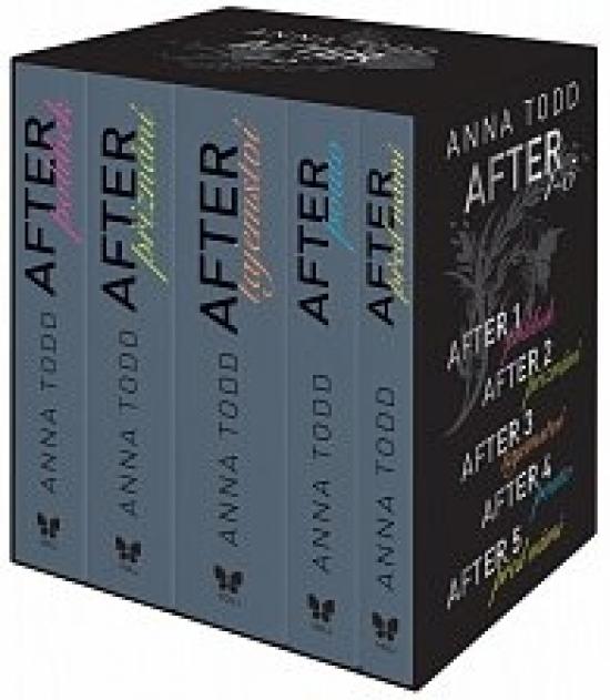 After (1-5) - komplet - Anna Toddová