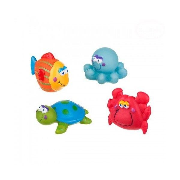 AKUKU - Hračky do vody - more - 4 ks