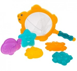AKUKU - Hračky do vody - more - 6 ks