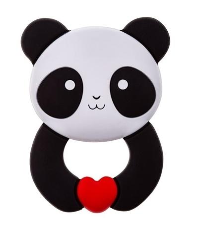 AKUKU - Silikónove hryzátko - Panda