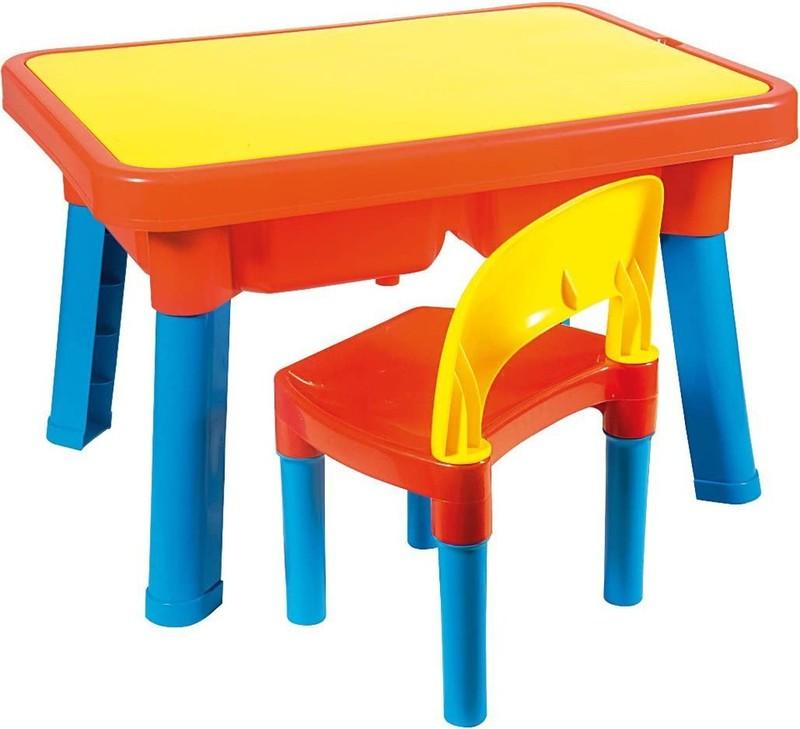 ANDRONI GIOCATTOLI - Multifunkčný plastový stolík a stolička