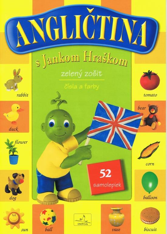 Angličtina s Jankom Hráškom - zelený zošit