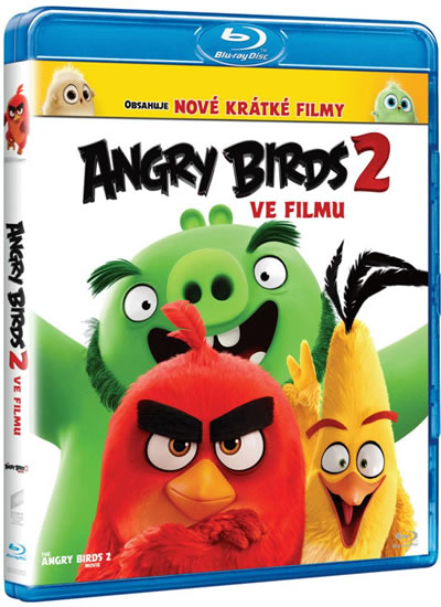 Angry Birds ve filmu 2 Blu-ray