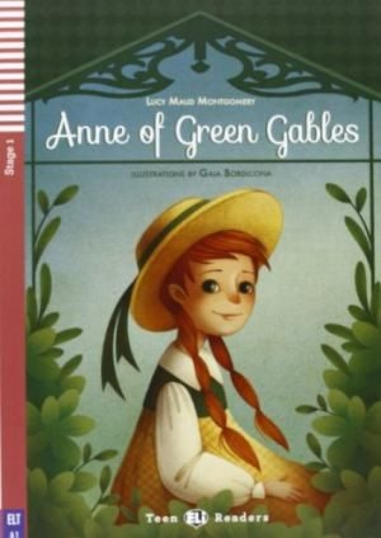 Anne of Green Gables + CD (A1) - Lucy Maud Montgomeryová