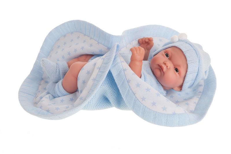 ANTONIO JUAN - 4069 PITU - realistická bábika - bábätko 26 cm