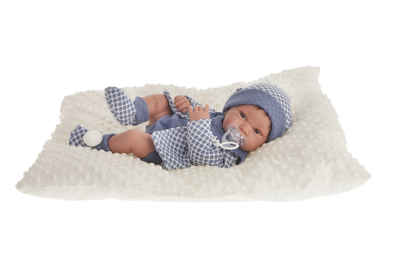 ANTONIO JUAN - 5035 PIPO - realistická bábika - bábätko 42 cm