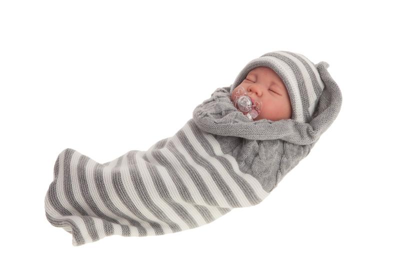 ANTONIO JUAN - 8125 SWEET DREAMS REBORN - spiaca realistická bábika - bábätko