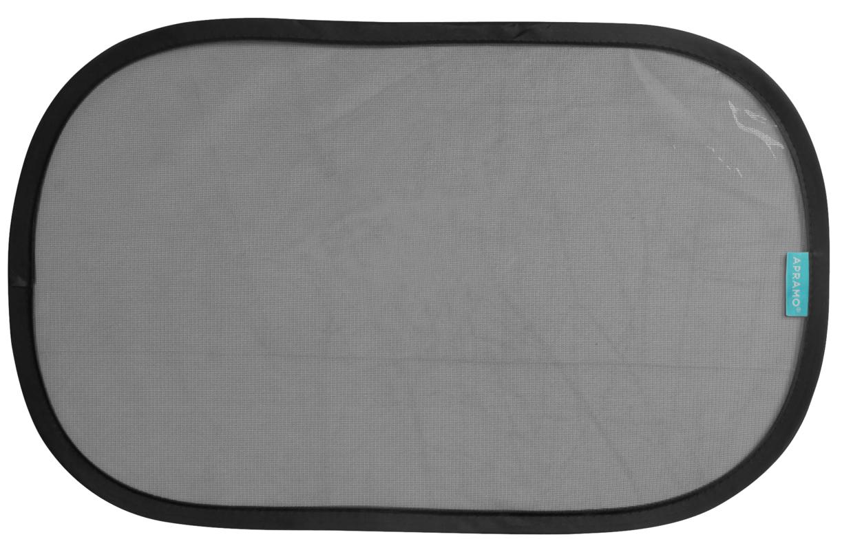 APRAMO - Slnečná clona do auta Cling Shade 2 ks Black