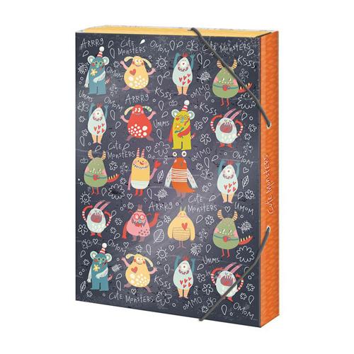 ARGUS - Box na zošity A4 Cute Monsters