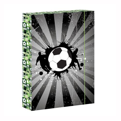 ARSUNA - Box na zošity A4 Football Icon Rey