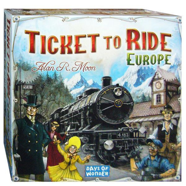 ASMODEE - ADC Blackfire Spoločenská hra Ticket to Ride Europe
