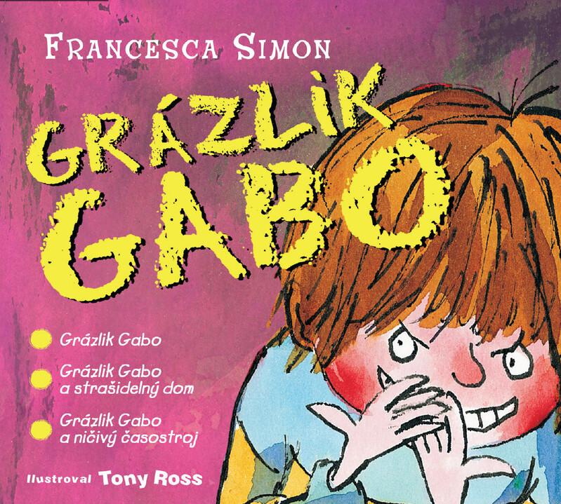 Audiokniha Grázlik Gabo (CD s 3 titulmi) - Francesca Simon