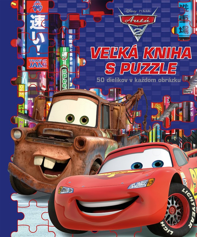 Autá 2 - Veľká kniha s puzzle