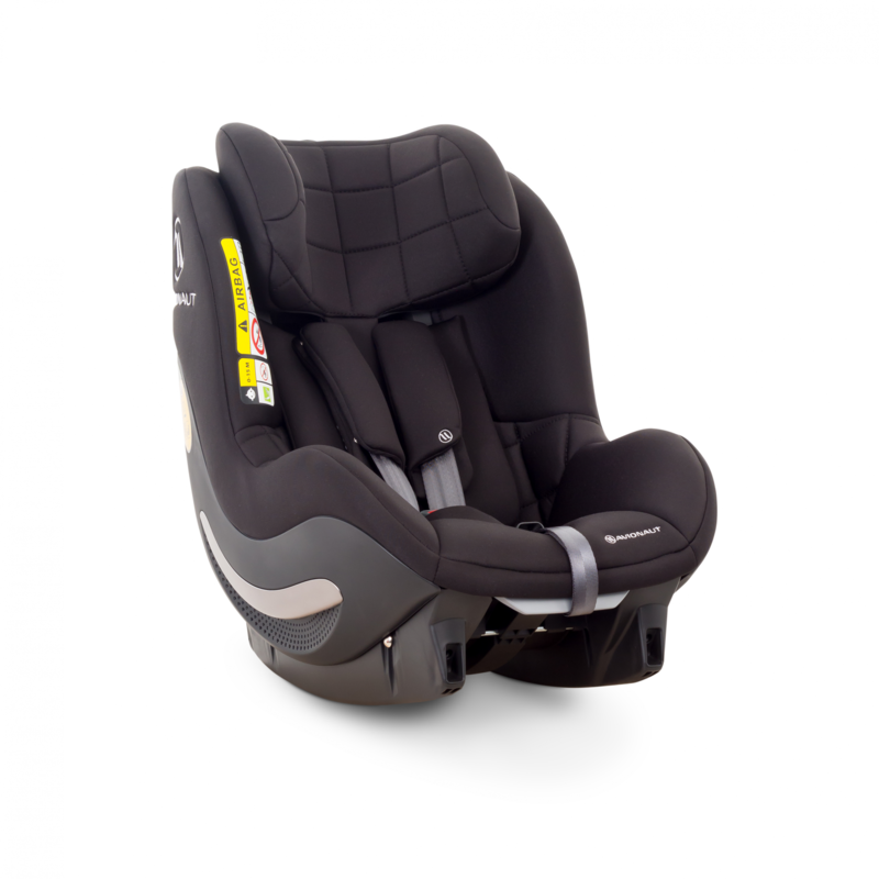 AVIONAUT - Autosedačka AEROFIX (67-105cm) 2019 čierna