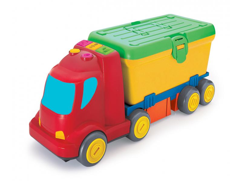 B-KIDS - Nákladiak s boxom na náradie