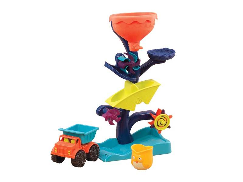 B-TOYS - Vodný mlynček s nákladiakom