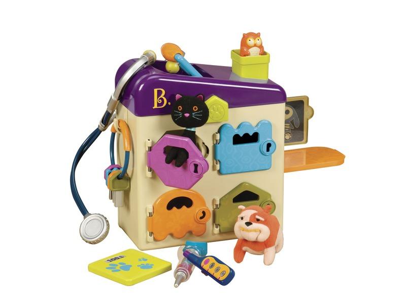 B-TOYS - Zverolekársky kufrík Pet Vet Clinic