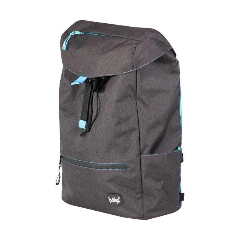 BAAGL - Študentský batoh Black