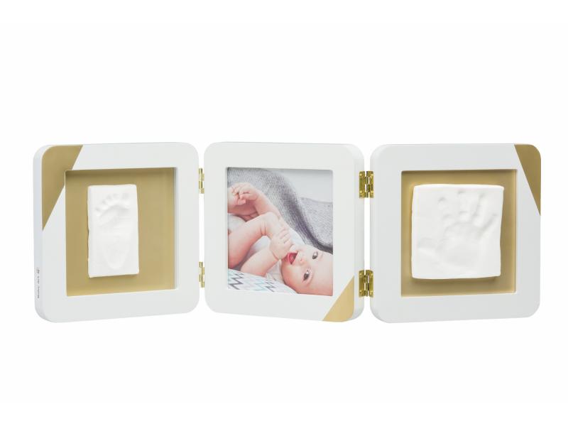 BABY ART - Rámček Gold Dipped Frame Double White