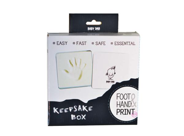 BABY DAB - Odtlačok 3D v krabičke