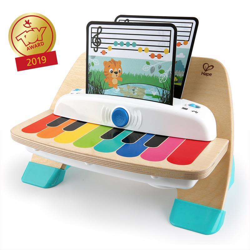 BABY EINSTEIN - Hračka drevená hudobná klavír Magic Touch HAPE 12m+